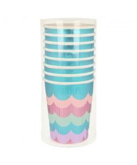 כוסות פרנזים בת הים - Meri Meri