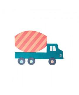 מפיות בצורת משאית - Meri Meri