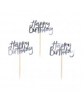 קיסמי happy birthday- כסף