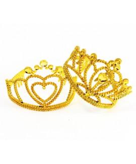 כתר נסיכה זהב