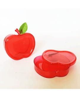 חבילת קופסאות תפוח שטוחות לראש השנה- אדום שקוף
