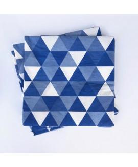 מפיות קוקטייל כחול לבן