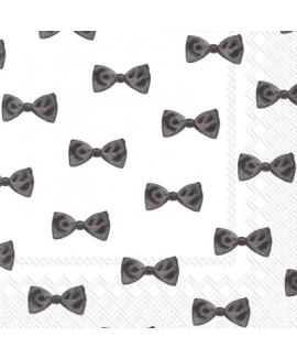 מפיות קוקטייל עניבת פפיון