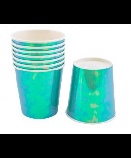כוסות נייר אולטרה תכלת