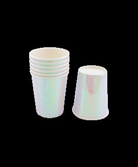 כוסות נייר אולטרה לבן