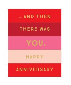 כרטיס ברכה - happy anniversary