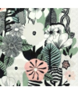 מפיות נייר פרחים יפנים