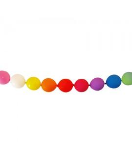 בלוני שרשרת צבעוניים- לניפוח עצמי