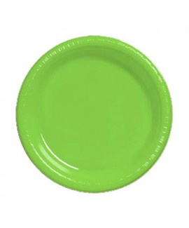 צלחת ירוקה גדולה