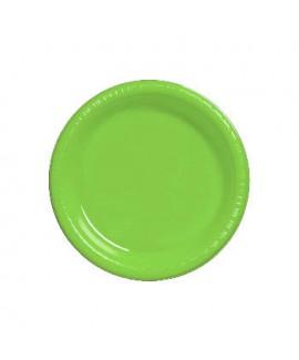 צלחת ירוקה בינונית
