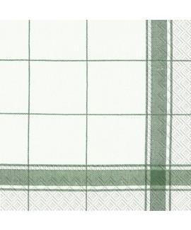 מפיות משבצות פס ירוק