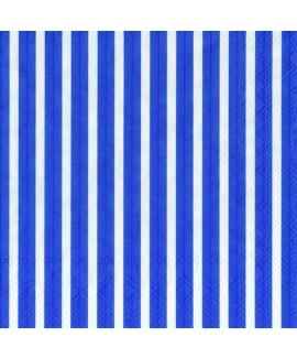 מפיות פסים כחולות