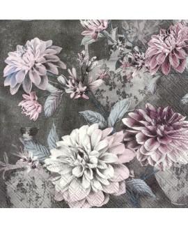 מפיות פרחים רקע שחור