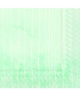 מפיות מנטה אומברה פסי נקודות