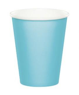 כוסות נייר תכלת