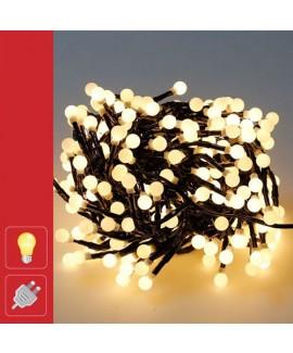 גלרנדת אורות לבחוץ - אור חם