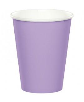כוסות נייר סגול לילך