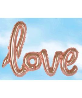 בלוני Love רוז גולד