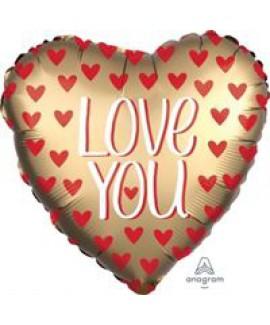 בלון לב ענק Love You