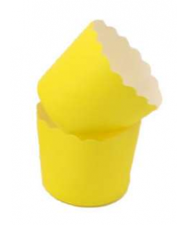 מנג'טים גדולים מנייר - צהוב