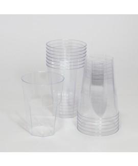 כוסות שקופות מפלסטיק קשיח (גידי)