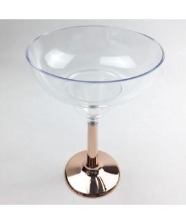 גביע מרגריטה רגל רוז גולד