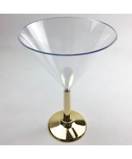 גביע מרטיני רגל זהב