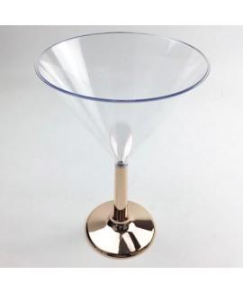 גביע מרטיני רגל רוז גולד