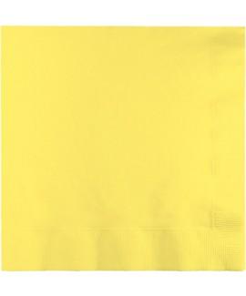 מפיות גדולות 3 שכבות צהוב מימוזה