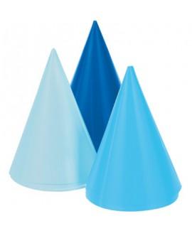 מארז כובעים בגווני כחול