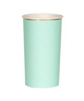 כוסות מנטה גבוהות עם עיטור זהב - Meri Meri