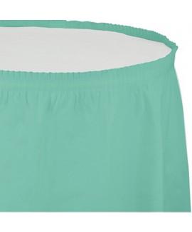 חצאית לשולחן מנטה
