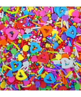 סוכריות לעוגה מיקס צבעוני