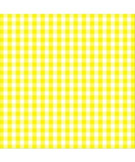 מפיות משבצות צהוב