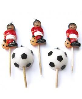 נרות שחקני כדורגל