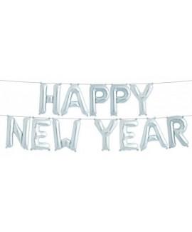 סט בלוני אותיות Happy New Year- לניפוח עצמי