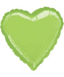 בלון מיילר לב ירוק