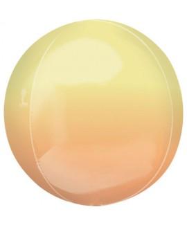 בלון הליום כדור אומברה צהוב כתום