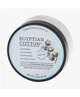 חמאת גוף- egyptian cotton