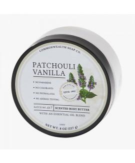 חמאת גוף- patchouli vanilla
