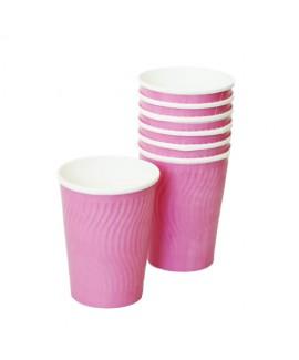כוסות גלים- ורוד