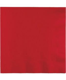 מפיות גדולות 3 שכבות אדום