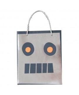שקיות יום הולדת רובוט - Meri Meri