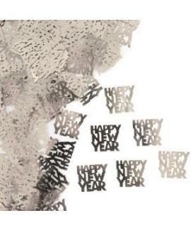 קונפטי כסף  Happy New Year