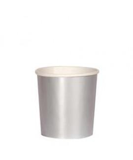 כוסות קטנות כסף - Meri Meri