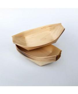 סירות גדולות מעץ להגשה