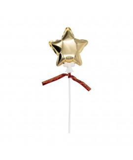 מיני בלון כוכב זהב