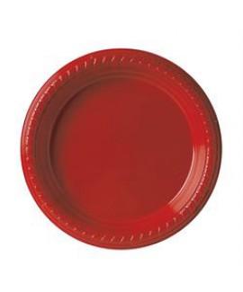 צלחת אדומה קטנה