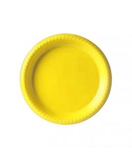 צלחת צהובה קטנה