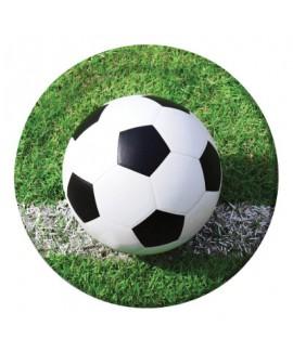 צלחת כדורגל גדולה